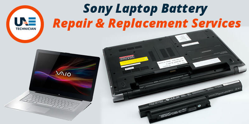 Sony Laptop Battery Repair & Replacement Services