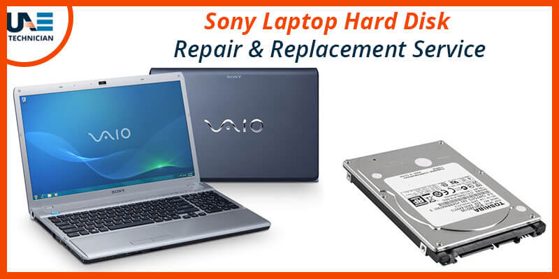Sony Laptop Hard Disk Repair & Replacement Service