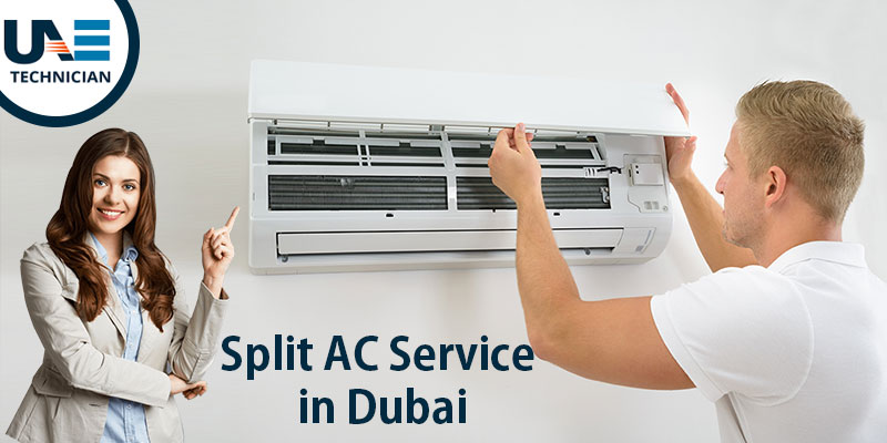 Split AC service in Dubai