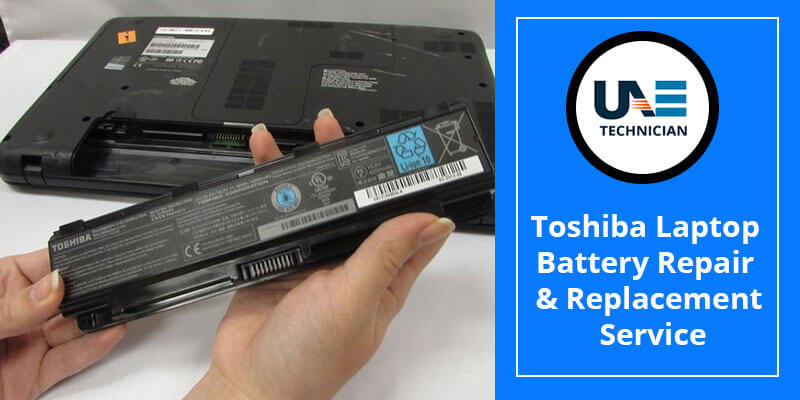 Toshiba Laptop Battery Repair & Replacement Service