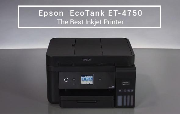 Epson EcoTank ET-4750 The Best Inkjet Printer