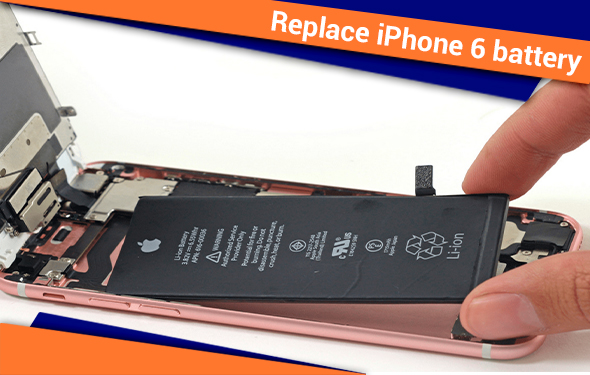 Know How to Replace iPhone 6 battery