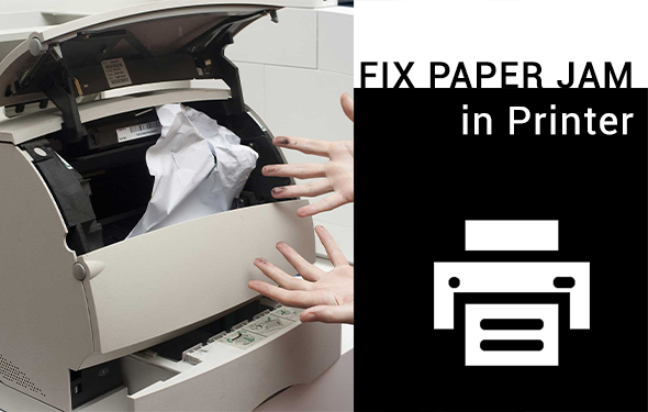 Fix Paper Jam in Printer