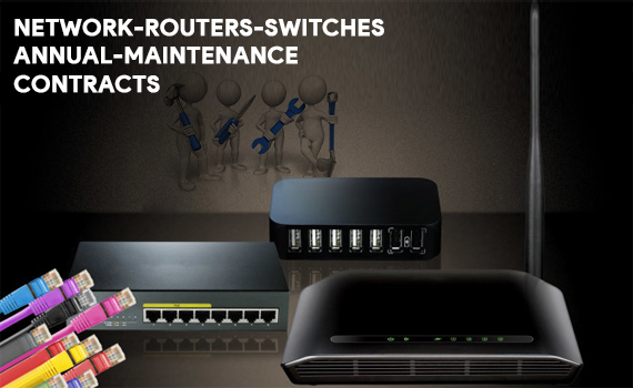 network routers switches annual maintenance contracts