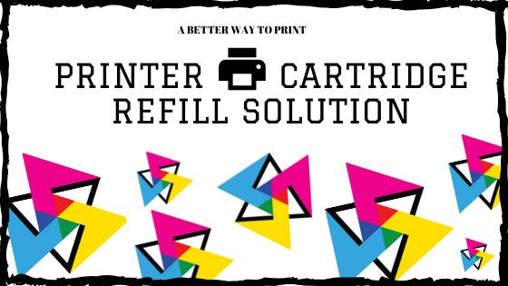 printer cartridge refill solution Dubai